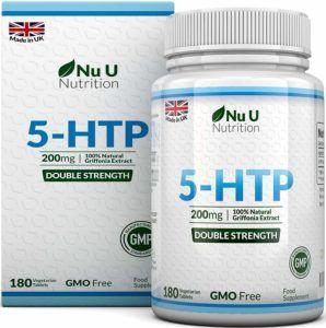 Nu U Doppelte Stärke 5 HTP Griffona Extrakt Tabletten Appetitzügler Test