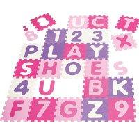 Playshoes 308746 - Puzzleteppich Zahlen, Pastell, 36 teilig Spielmatte Test