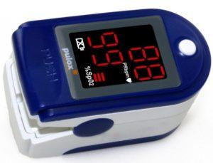 Pulsoximeter PULOX PO 100 Solo In Blau Test E1542058873461