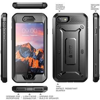 Die UBPro-Black iPhone 7 Hülle ist sehr gut verarbeitet Test