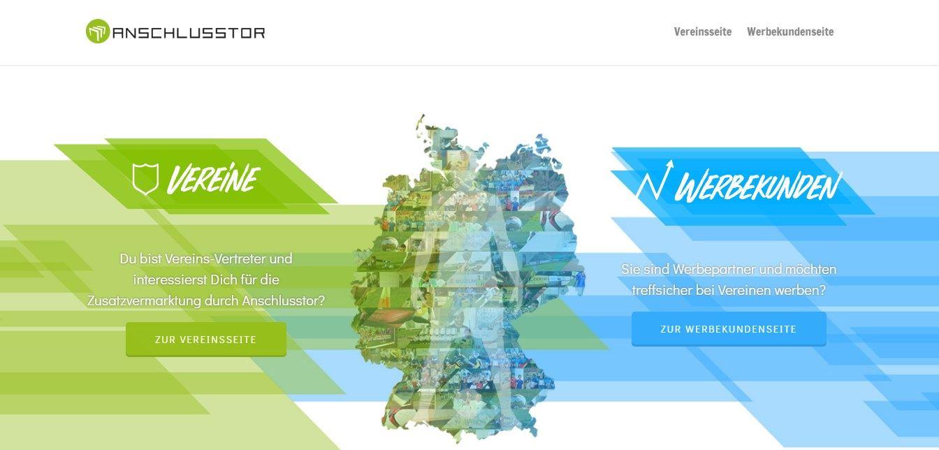 Anschlusstor ist eine Plattform zur Vermarktung von Sportvereinen