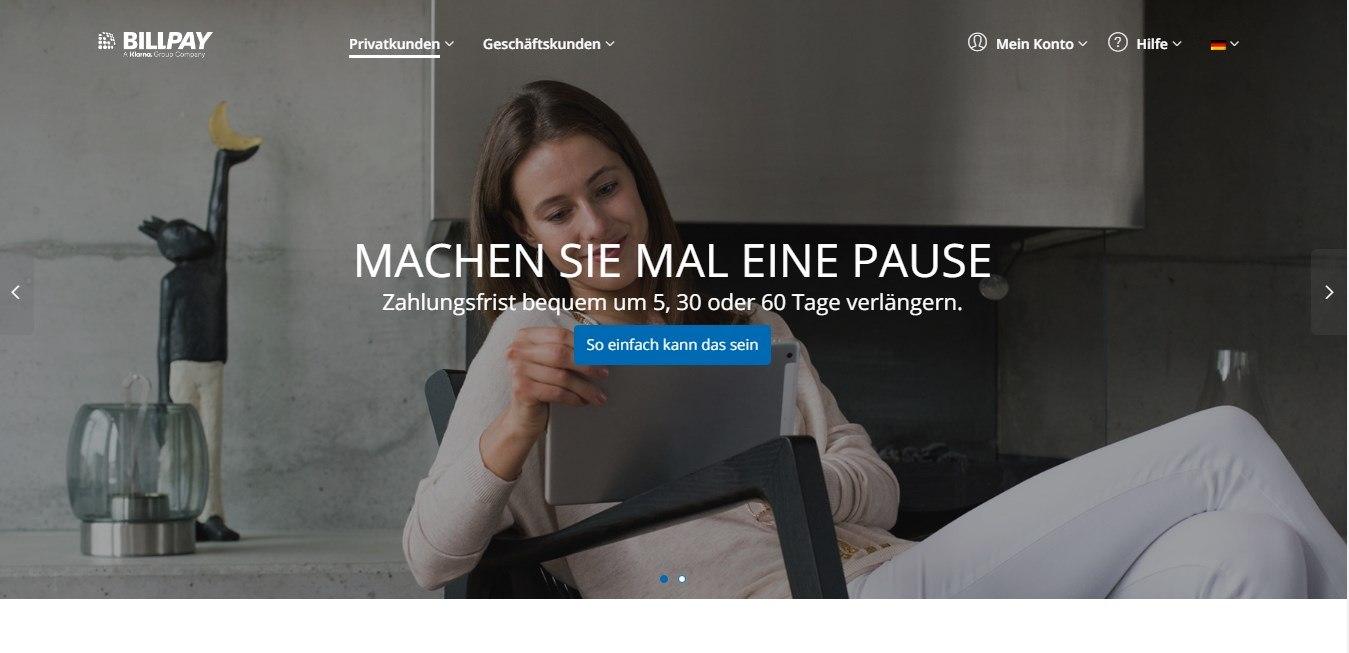 Der Zahlungsdienstleister Billpay.de bietet eine alternative Möglichkeiten für eine Zahlung im Internet