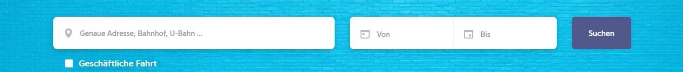 Die Benutzung von Drivy.de ist einfach gehalten und man kann gleich loslegen