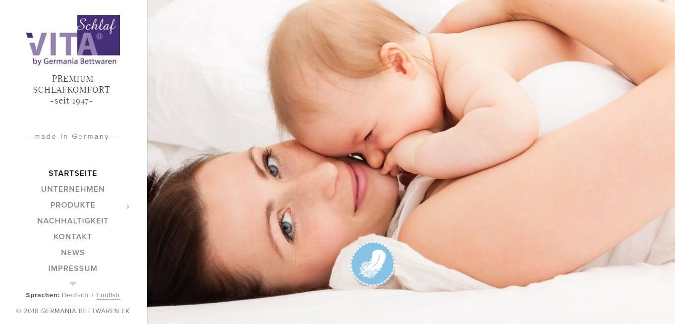 Germania-Bettwaren ist ein Hersteller zum Thema Bettwaren