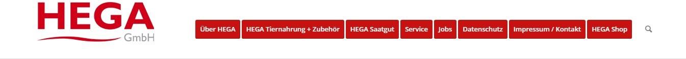 Kategorien beim Onlineshop von Hega GmbH vereinfachen das Finden der benötigten Produkte