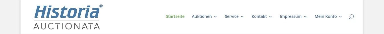 Die Kategorien leiten sicher durch die Webseite von Historia.de