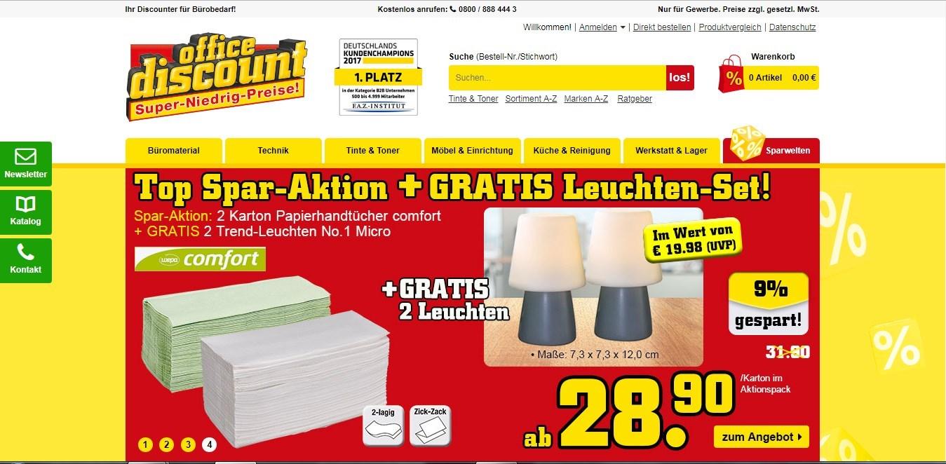 Onlineshop Office Discount - Super-Niedrig-Preise
