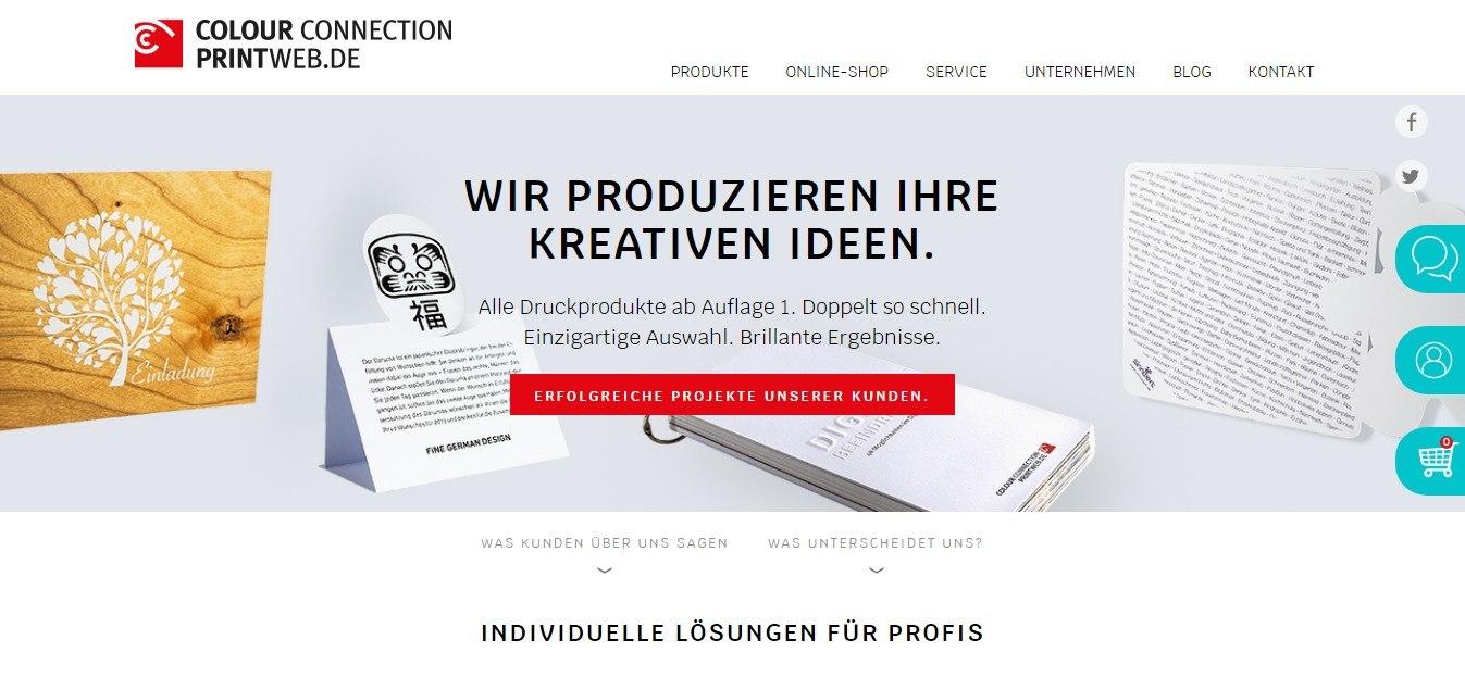 Auf Printweb.de findet man individuelle Lösungen für seinen Druck