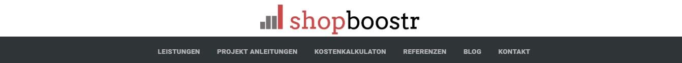 Die Kategorien auf Shopboostr.de erleichtern das Finden der richtigen Dienstleistung