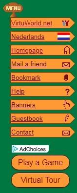 Kategorien vereinfachen die Suche nach einem Spiel auf virtuworld.net