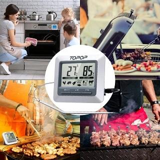 Der Grillthermometer mit manuellen Temperatureinstellungen von TOPELEK TADETECP005AH-1 im Test und Vergleich bei Expertentesten