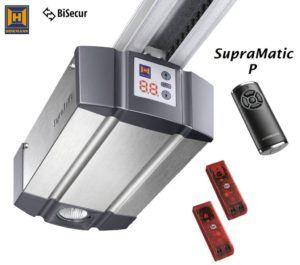 Test des Hörmann Garagentorantriebs SupraMatic-P-Serie-3-BiSeAntriebskopf-inkl.-Lichtschranke-EL101-und-Handsender-HS5BS-inkl.-Schiene
