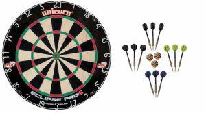 Unicorn Dart Board Eclipse Pro2 Dartscheibe Test