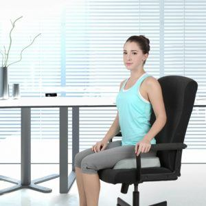 How does a seat cushion work in the test and comparison at ReviewInstitutes?