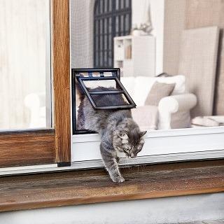 Bedienung von Windhager 03333 Katzenklappe im Test