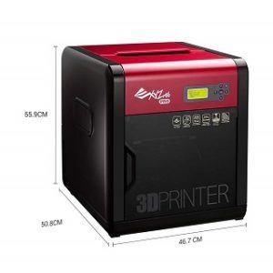 Der Printing da Vinci 1.0 Pro 3D-Drucker ist sehr klein und kompakt Test