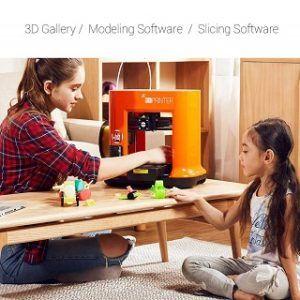 Auspacken, Installieren des 3D-Druckers von da Vinci Test