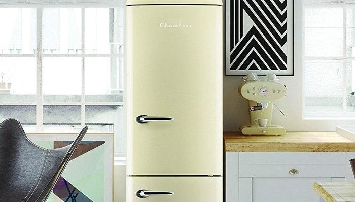 Retro Kühlschrank Griff : Syntrox germany retro kühlschrank mit schloss und griff im test