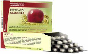 PlantoCAPS® GLUCO 3.0 Abnehm Kapseln Appetitzügler Kapseln Test