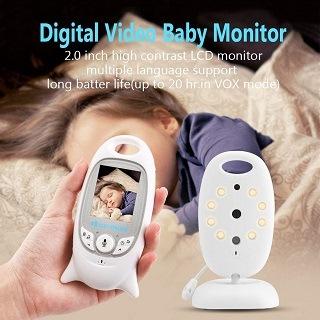 DAs VB601 Babyphone wird getestet