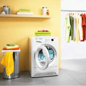 Welche Arten von Wäschetrockner gibt es in einem Test?