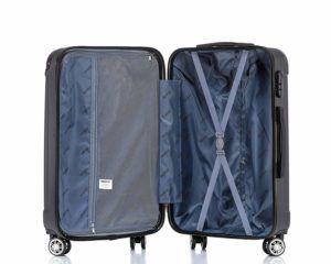 BEIBYE Hartschalen Koffer Trolley Innenraum Test