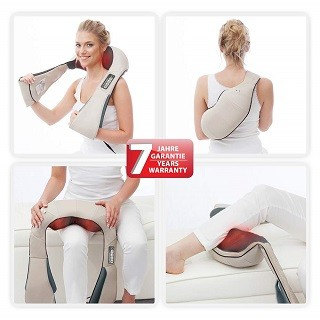 Das Nackenmassagegerät mit 3 Massageprogramme von Donnerberg 3D im Test und Vergleich