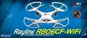 RAYLINE R806w Quadrocopter Eigenschaften, Test und Vergleich