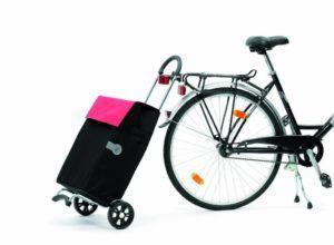 Einkaufstrolley für Fahrräder