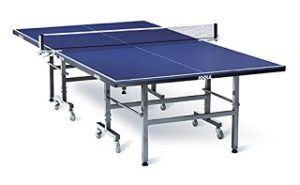 Die TT-Tisch TRANSPORT Tischtennisplatte von JOOLA ist sehr gut verarbeitet und hat eine sehr schöne Blaue farbe Test