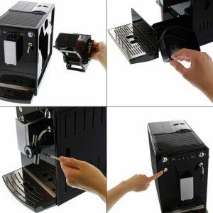 Der Kaffeevollautomat mit automatischen Reinigungsprogrammen von Melitta E 957-101 im Test und Vergleich bei Expertentesten