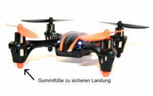 MikanixX Spirit X006 Quadrocopter Praxiseinsatz, Test und Vergleich