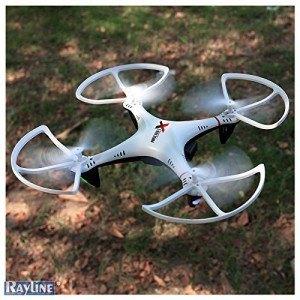 RAYLINE R806w Quadrocopter Praxiseinsatz, Test und Vergleich