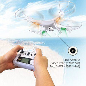 Syma X5C Explorer Quadrocopter Praxiseinsatz, Test und Vergleich