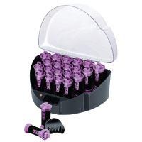 Remington KF40E Easy Clip System Heizwickler aufheizbare Lockenwickler schwarz violet Test