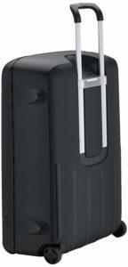 Samsonite Termo Young - Upright 82 in schwarzer Farbe, hergestellt aus leichtem und doch widerstandsfähigem Polypropylen