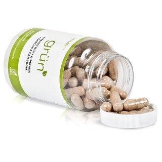 Der Grün Fatburner enthält viele Vitamine pro Kapsel Test