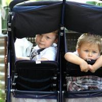 gebrauchter Zwillingskinderwagen