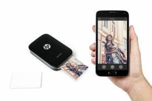 App des HP Sprocket Mobiler Sofortdruckers im Test