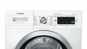 Waschprogramme, Display und Funktionen der Bosch WTW875W0 Serie 8 Waschmaschine mit integriertem Trockner im Test.