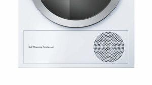 Reinigung und Pflege gelingt einfach und schnell durch die SelfCleaning Condenser Funktion der Bosch WTW875W0 Serie 8 Waschmaschine mit integriertem Trockner im Test.