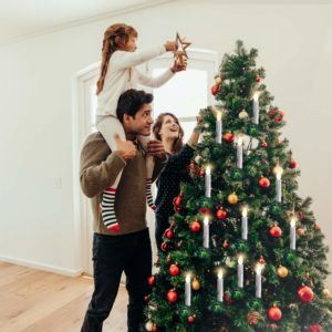 Das kabellose Weihnachtsbaumbeleuchtung Kerzen RGB SET von CCLIFE ist eine neue Erscheinung.