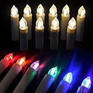 Kabellose Weihnachtsbaumbeleuchtung mit RGB Lichtern in Kerzen Form von CCLIFE im Test und Vergleich.