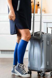 Blaue hohe Damen und Herren Socken von DANISH ENDURANCE im Test und Vergleich.