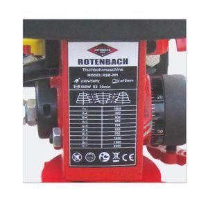Rotenbach B16 Standbohrmaschine Eigenschaften, Test und Vergleich