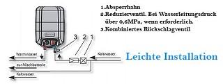 Der Warmwasserspeicher mit 2000 Watt Leistung 72326NMP von Eldom im Test und Vergleich