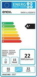 Enox LL-0222ST2 Wohnmobil Fernseher Energielabel