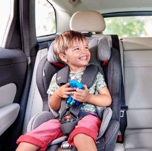 Der gute Komfort von einem Kindersitz ab 4 Jahren im Test
