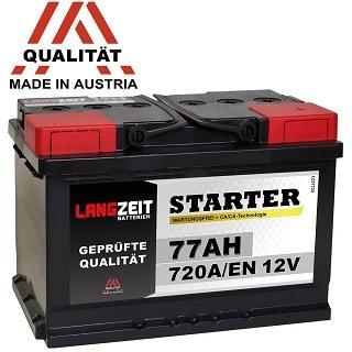 Autobatterie LANGZEIT 12V 77AH 720A/EN im Test und Vergleich
