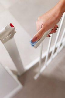 Das Treppenschutzgitter Lindam Sure Shut Orto im Test und Vergleich